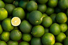 Pile of Lime fruits Royalty Free Stock Photography
