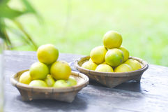 Pile of lime,pile of lemon Royalty Free Stock Image