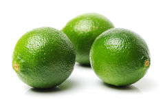 Pile of limes Royalty Free Stock Photo