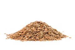Pile of linseed Royalty Free Stock Image