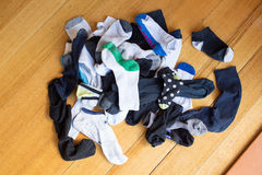 Pile of Lost Socks Royalty Free Stock Image
