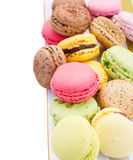 Pile of macaroons Stock Photography