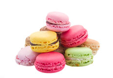 Pile   of macaroons Stock Image