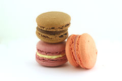 A pile of macaroons Royalty Free Stock Photography