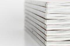Pile of magazine. Stock Photo