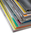 Pile of Magazines Royalty Free Stock Photography