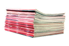 Pile of Magazines royalty free stock photos