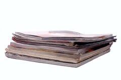 Pile of magazines Stock Photos