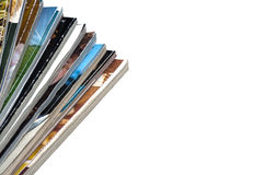 Pile of Magazines Royalty Free Stock Photo