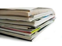 Pile magazines Royalty Free Stock Photography