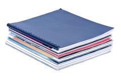 Pile of magazines Stock Photography