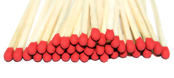 Pile of Match Stock Photography