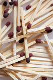 Pile of Matches Royalty Free Stock Photo