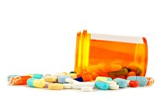 Pile of Medicine Stock Photography