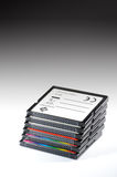 Pile of memory card Royalty Free Stock Image