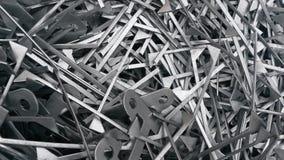 Silver shine metal royalty free stock photo