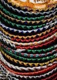 Pile of Mexican sombrero Stock Photos