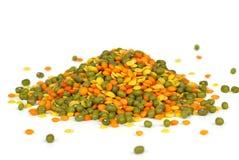 Pile of mixed beans Stock Photos