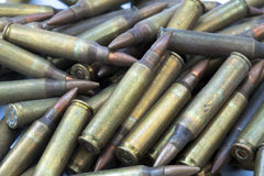 5.56 Bullets Background Royalty Free Stock Photos