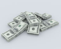 Pile of the money Royalty Free Stock Photo