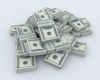 Pile of the money Royalty Free Stock Photography