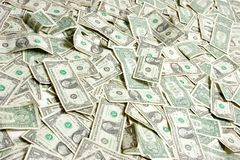 Pile of Money Royalty Free Stock Image
