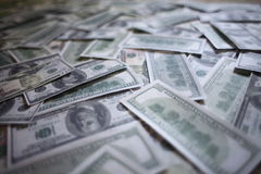 Pile of money Royalty Free Stock Photography