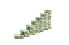Pile of money. Stock Photo