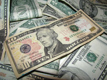 Pile of Money v1 Royalty Free Stock Photos