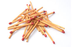 Pile more matches Royalty Free Stock Photo