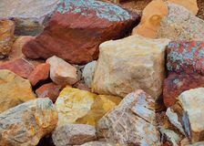 Mountain Rocks Royalty Free Stock Images