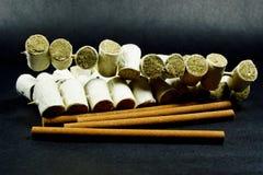 Pile of Moxa Stock Image
