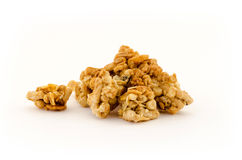 Pile of muesli Royalty Free Stock Image