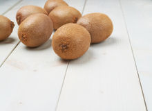 Pile of multiple kiwifruits Stock Images