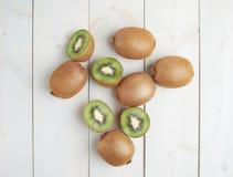 Pile of multiple kiwifruits Royalty Free Stock Photos