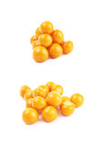 Pile of multiple physalis fruits Royalty Free Stock Image