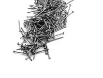 Pile of nails Royalty Free Stock Photos