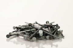Pile of Nails Stock Photography