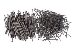 Pile of nails Stock Photos