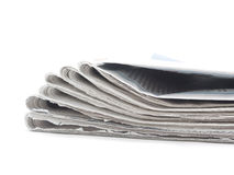 Pile of newspaper Royalty Free Stock Photography