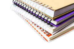 Pile of notebook Royalty Free Stock Photos