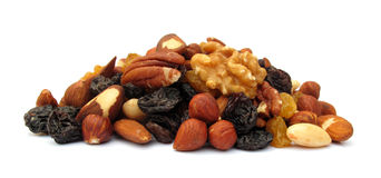 Pile of nuts Royalty Free Stock Photos
