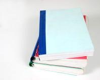 Pile 'o' books. Isolated image of books Stock Photo