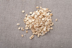 Pile of oat Royalty Free Stock Photo