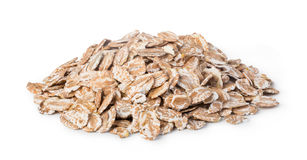pile of oatmeal Stock Photo