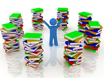 Free Pile Of Books Royalty Free Stock Images - 9027389