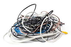 Free Pile Of Cables Royalty Free Stock Images - 28259369
