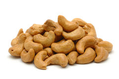 Pile Of Cashew Nuts Stock Images