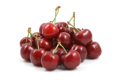 Pile Of Cherries Royalty Free Stock Images