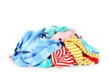 Free Pile Of Clothes Stock Image - 111868011